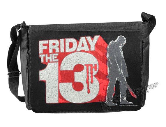 torba na ramię FRIDAY THE 13TH - BLOCK LOGO