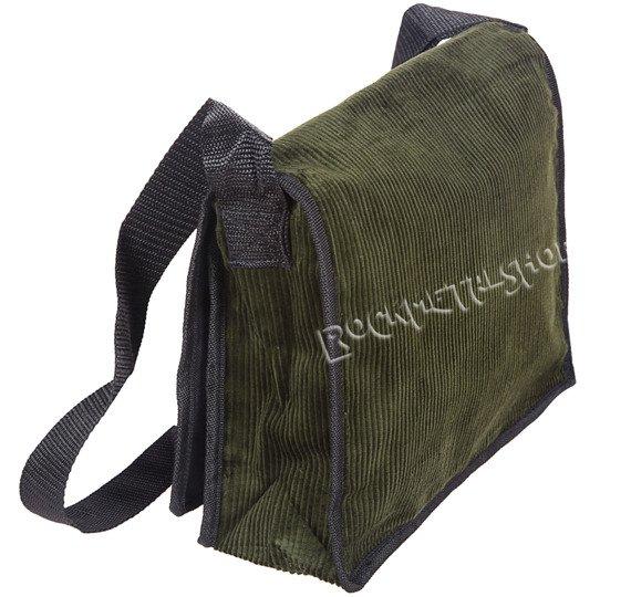 torba na ramię SZTRUKSOWA oliwkowa
