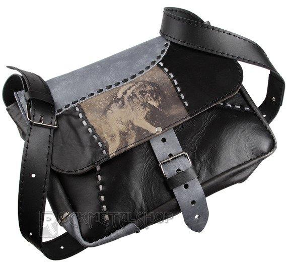 torba skórzana HUNTING WOLF