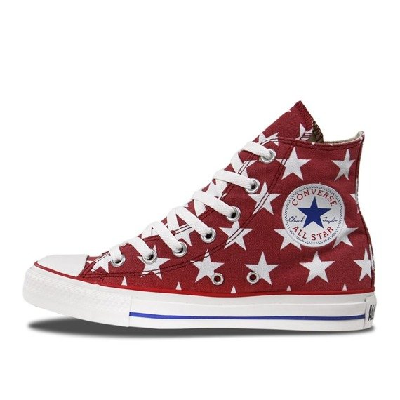 trampki CONVERSE - CHUCK TAYLOR ALL STAR HI JESTER RED/