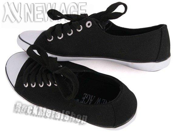 trampki NEW AGE - BLACK
