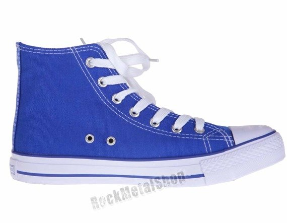 trampki NEW AGE - ROYAL BLUE (082)