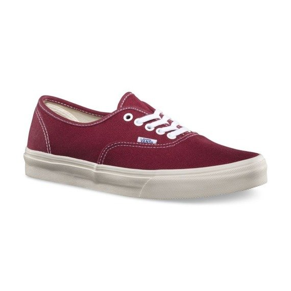 trampki VANS - AUTHENTIC VINTAGE TIBETAN RED MAR