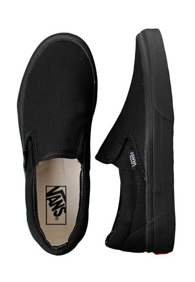 trampki VANS - CLASSIC SLIP ON BLACK BLACK