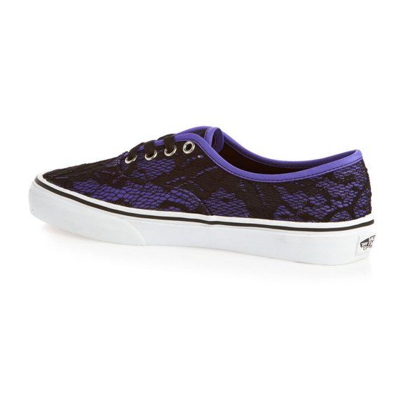 trampki damskie VANS - AUTHENTIC LACE NEON VIOLET