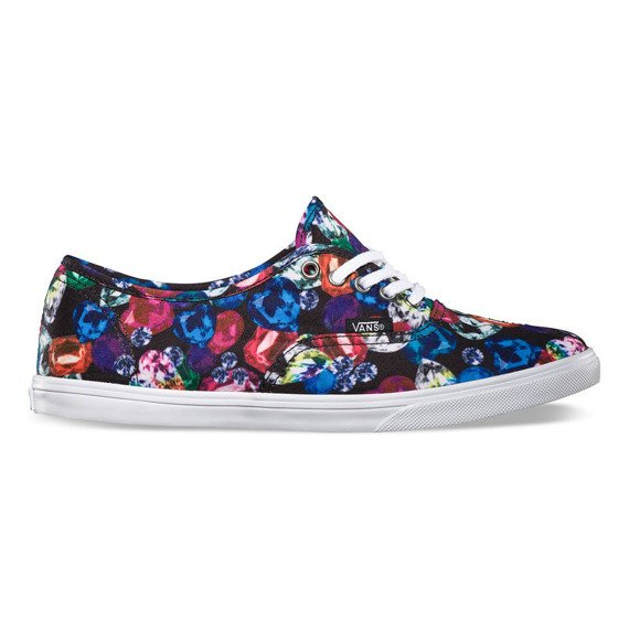trampki damskie VANS - AUTHENTIC LO PRO JEWEL BLACK TRUE WHITE