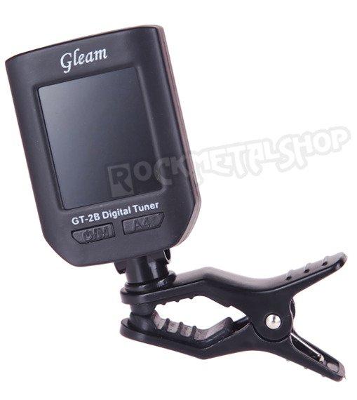 tuner / stroik gitarowy GLEAM GT-2B uniwersalny, na klip