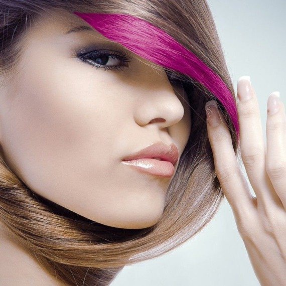 tusz do włosów (HAIR MASCARA) kolor ZIELONY UV (GREEN)