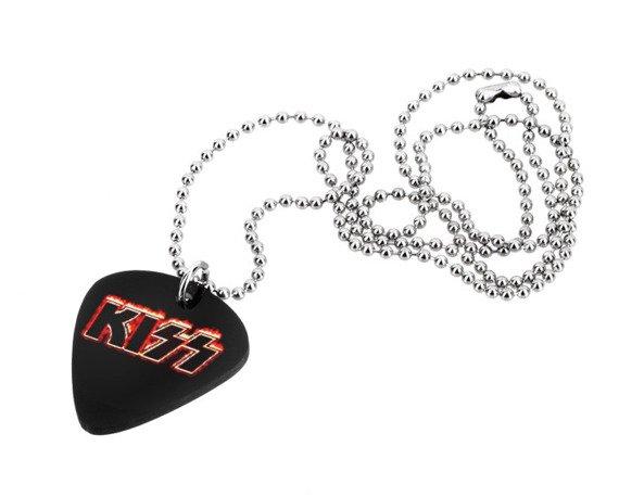 wisior kostka gitarowa KISS - LOGO