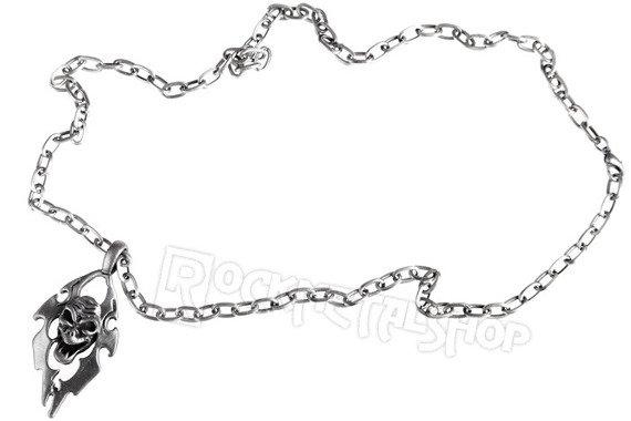 wisior + łańcuch SKULL