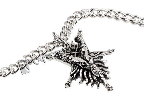 wisior + łańcuszek BAPHOMET