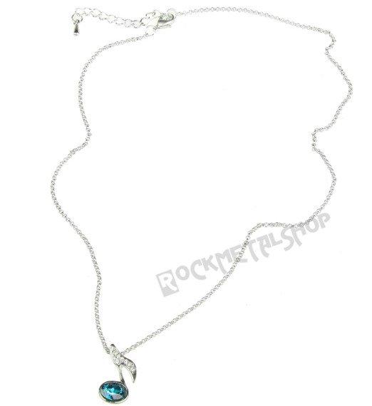 wisior + łańcuszek RAVEN - NUTKA z cyrkoniami RAV-B052