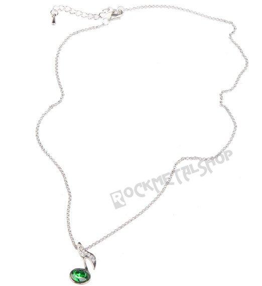wisior + łańcuszek RAVEN - NUTKA z cyrkoniami RAV-B054