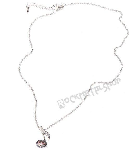 wisior + łańcuszek RAVEN - NUTKA z cyrkoniami RAV-B056