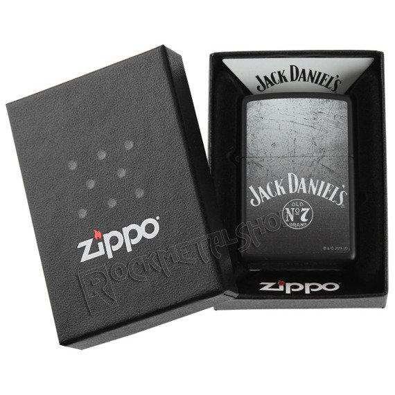 zapalniczka ZIPPO - JACK DANIEL'S