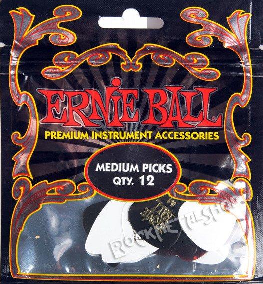 zestaw kostek (12 szt.) ERNIE BALL EB 9178 medium