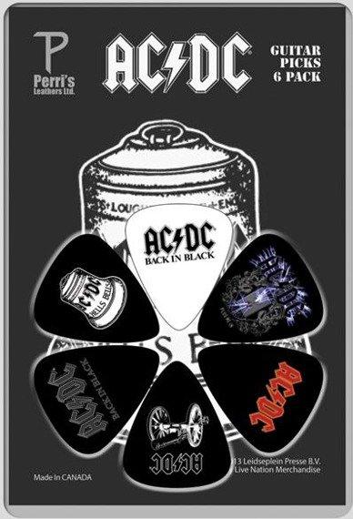zestaw kostek AC/DC LP-ACDC3 (6 szt)
