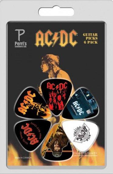 zestaw kostek AC/DC LP-ACDC4 (6 szt)