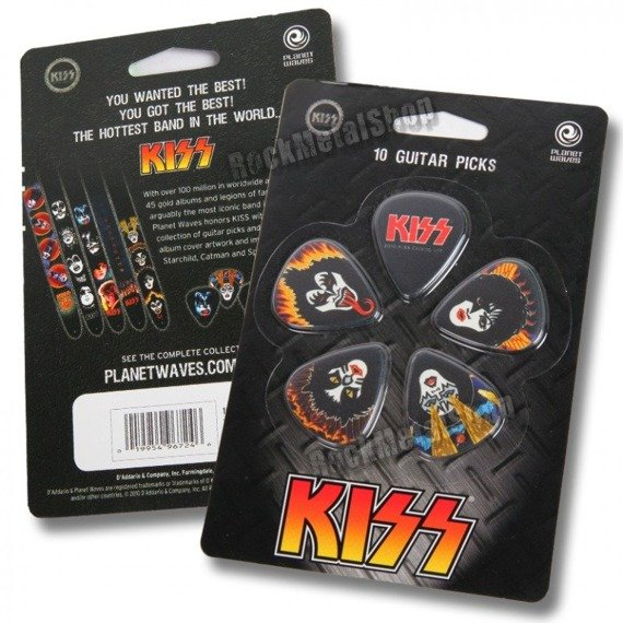 zestaw kostek KISS - ROCK AND ROLL OVER (10 szt)