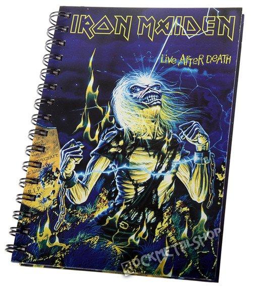 zeszyt IRON MAIDEN