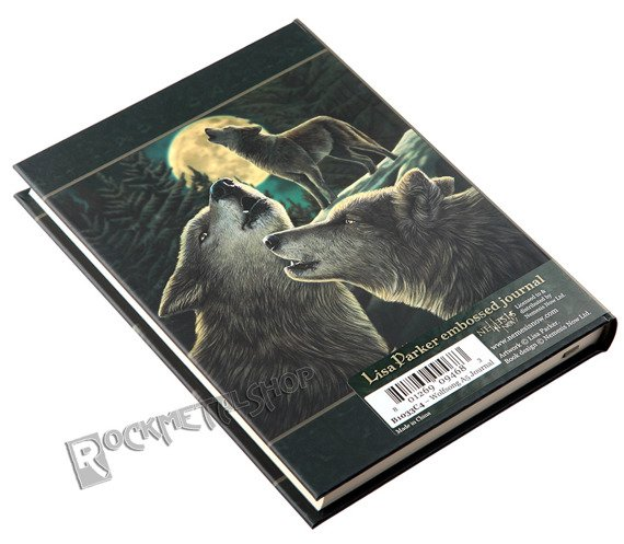 zeszyt/pamiętnik WOLF SONG