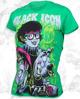 bluzka damska BLACK ICON - SCOOBY (DICON008 KELLY GREEN)