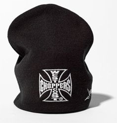 czapka zimowa WEST COAST CHOPPERS - IRON CROSS