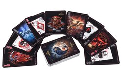 karty do gry THE BLACK ARCANA PLAYING CARDS [CARD5]Alchemy Gothic