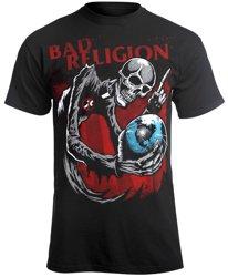 koszulka BAD RELIGION - SKULL