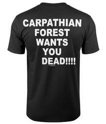 koszulka CARPATHIAN FOREST - WANTS YOU DEAD