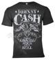 koszulka JOHNNY CASH - EAGLE ciemnoszara