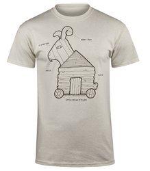 koszulka MONTY PYTHON - TROJAN RABBIT