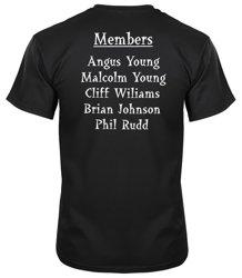 koszulka na ramiączkach AC/DC